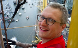 in de mast van de Alex-2