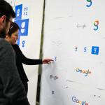 Nog steeds zes letters op een blanco pagina – Het Google-logo