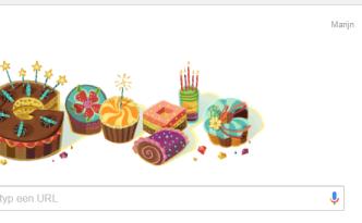 gefeliciteerd van Google