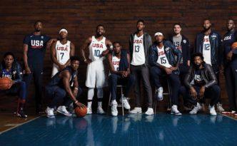 2016 olympics Nike basketball