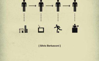 quercus books, life in five seconds Silvio Berlusconi