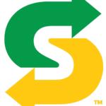 De logo's van Subway