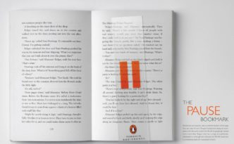 Penguin pause bookmark audiobooks