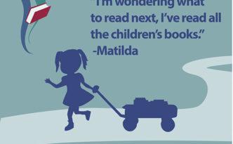 San Antonio Public Library Matilda roald dahl