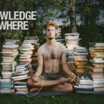 Boekenstapel of luisterboeken