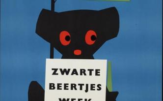 Boekenweek zwarte beertjes pocketbooks voor iedereen 1963