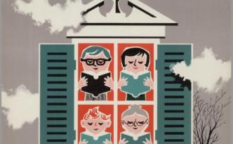 boekenweek 1952 iedereen leest voor het raam (2)