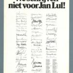 Boekenweek 1972 – Jan Lul