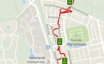 5 kilometer, route avondvierdaagse vrijdag 6 juni 2014