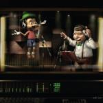 Roodkapje, Sneeuwwitje en Pinokkio in advertentie voor luisterboeken