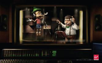 Audioboek Virgin Megastore Pinokkio