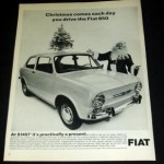Auto onder de kerstboom