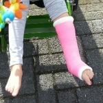 Mijn dochter en haar gebroken been