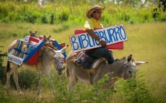 De biblioburro, de bibiotheekezel