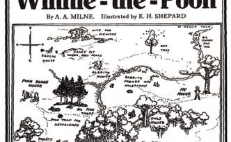 Eerste advertentie voor Winnie the Pooh 1926