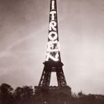 De Eiffeltoren als billboard voor Citroën