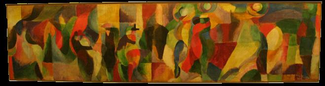 Le Bal Bullier - Sonia Delaunay