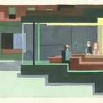 Fantastische schilderijen in 8-bit