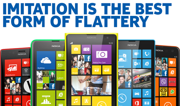 Nokia response to Apple iPhone 5c