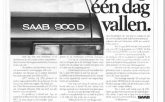 Pasen en Pinksteren op een dag advertentie van Saab