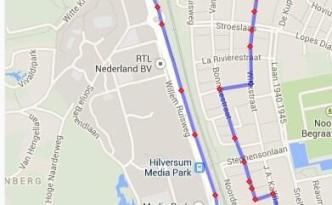 2014 Route vrijdag, avondvierdaagse Hilversum