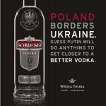 Sobieski Vodka dolt Poetin