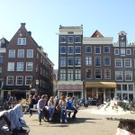 Weekly photo challenge – Street life – Amsterdam, Nieuwmarkt
