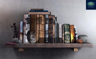 boeken, Landrover op de boekenplank