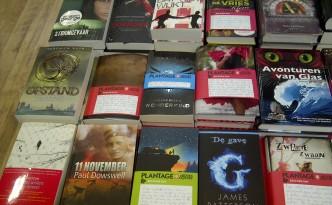 boeken, recensies, handgeschreven