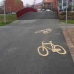 Ga naar huis fietspad, je bent dronken