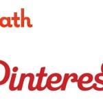 Logo's die op elkaar lijken: Path en Pinterest